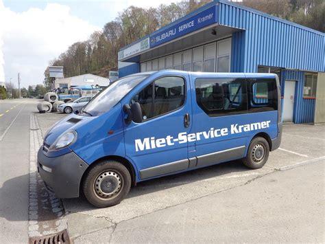 Anh Nger Mieten Jona by Miet Service Kramer Autowerkstatt Kramer Kramer Marine
