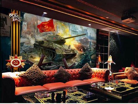 custom mural wallpaper room 3d photo wallpaper soviet union tank retro hd painting photo sofa tv