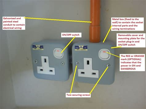 electrical socket wiring electrical installation wiring pictures metal clad socket