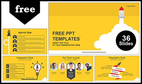 free website templates for yellow pages rocket launched powerpoint template