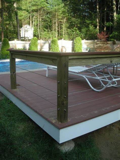 walpole ma  post  top rail  support stainless