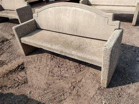 cast concrete bench cast concrete bench 7 arteka landscaping surplus