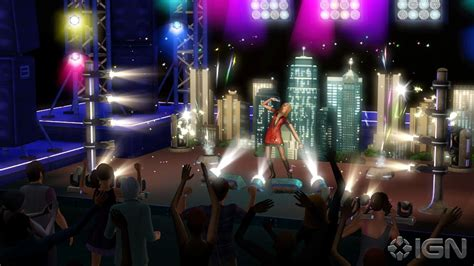 The Sims3 Show Time the sims 3 showtime screenshots pictures wallpapers