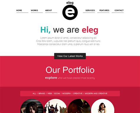 layout with bootstrap resizable 45 best bootstrap portfolio website templates web
