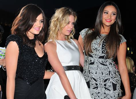 pretty liars wann file hale benson shay mitchell at the 38th