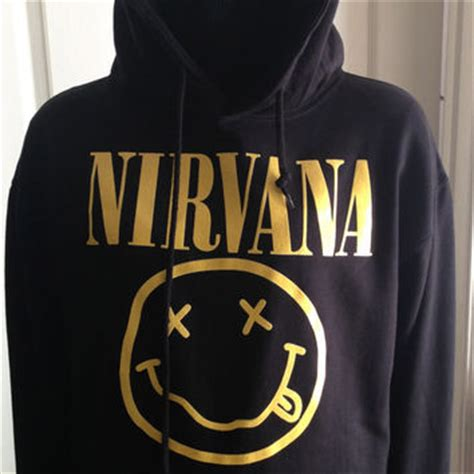 Hoodie Nirvana Sweater shop nirvana sweatshirt on wanelo