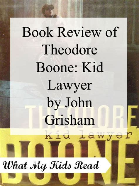 theodore boone kid lawyer book report 17 best images about chapter books on book