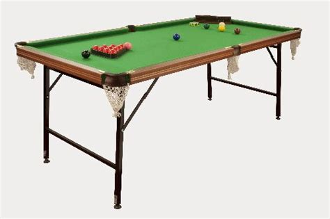 6ft Folding Pool Table 6ft Pool Snooker Table Folding Leg Foldaway Executive Wood Bed Table Uk Made Ebay