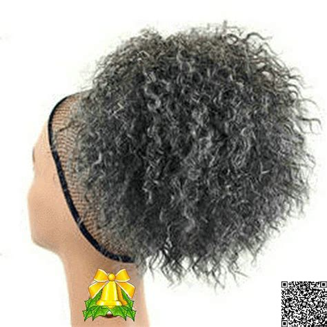 large drawstring curly afro puff ponytail grey afro puff drawstring ponytail afro puff drawstring