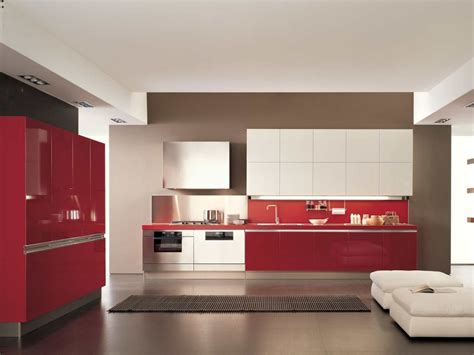 red and white kitchen designs red and white kitchen interior modern red and white