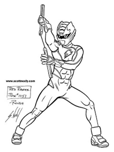 power ranger rpm colouring pages