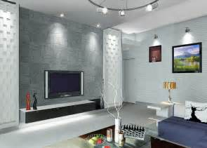 Room Wall Interior Living Room Design With Tv Wall 3d House