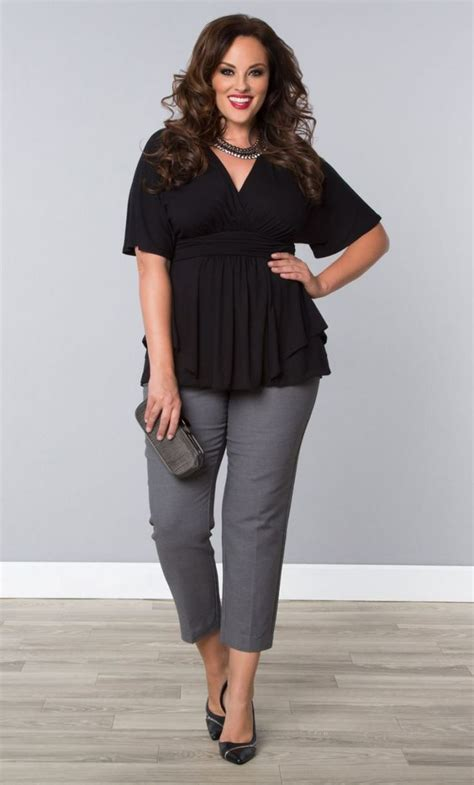 5 flattering ways wear plus size cropped pants