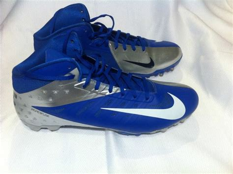 nike vapor shoes football nike vapor elite hyperfuse football cleats size13 blue