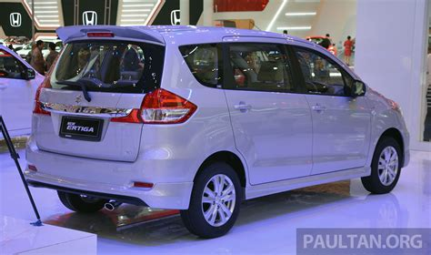 giias 2015 suzuki ertiga facelift updated 7 seater