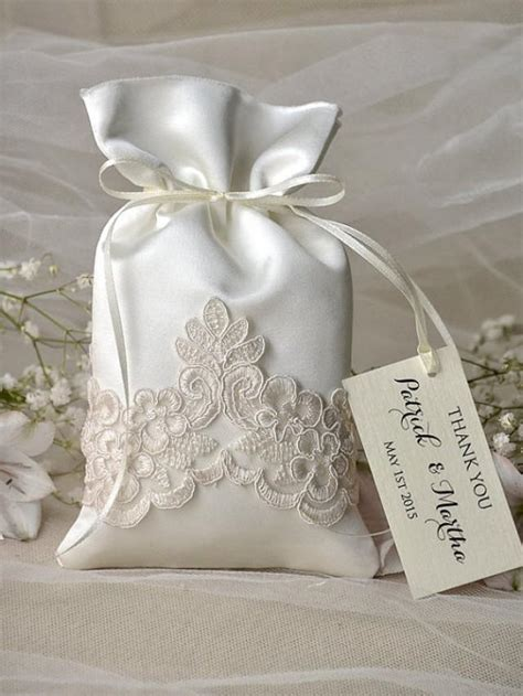 Wedding Favors Bags by Vintage Wedding Favor Bag Lace Wedding Favor Bags