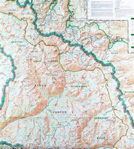trail map of sequoia national park