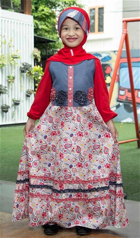Foto Baju Muslim Anak Perempuan Koleksi Gambar Baju Muslim Anak Perempuan Terbaru 2015