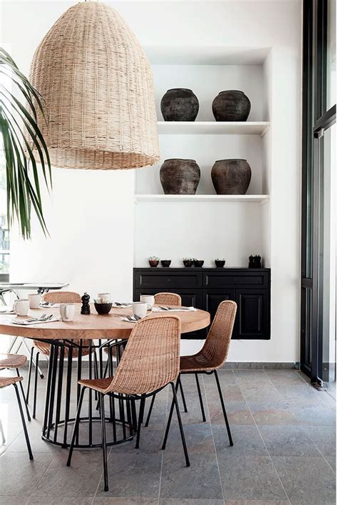 wicker lampshade kitchen inspiration comedor