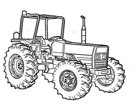 tractor coloring page online tractor coloring pages 1 coloringpagehub