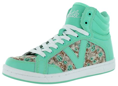 volatile slammin s floral high top sneakers shoes