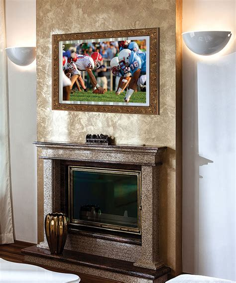 stanford lighted mirror tv electric mirror 174