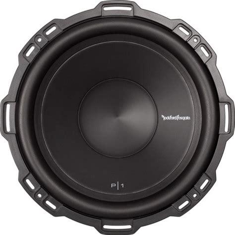Subwoofer Rockford Fosgate Audio P1s4 12 Punch Single Coil rockford fosgate p1s4 12 punch p1 12 quot subwoofer 4 ohm