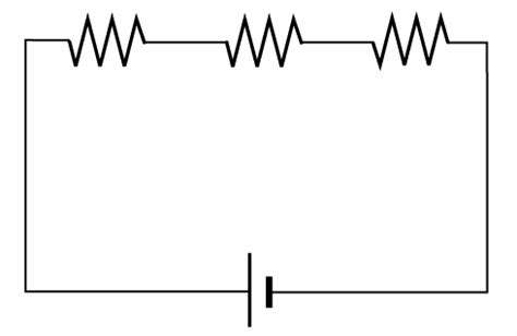 resistor series circuit circuits resistors in series