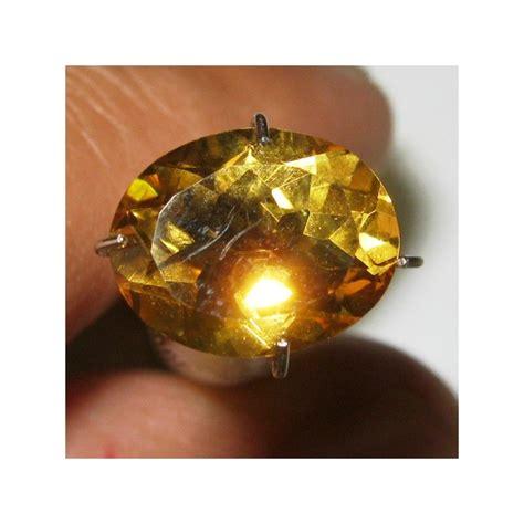 Liontin Wanita Batu Yellow Citrine jual batu permata citrine orangy yellow 2 51 carat