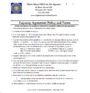 Layaway Agreement Template by Antique Mall Software Consignment Shop Software Antique