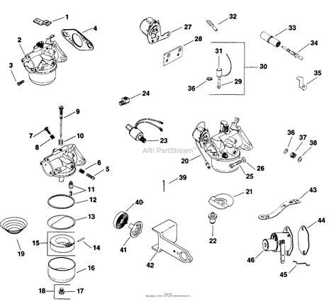 kohler carburetor diagram 12 hp kohler engine diagram kohler 18 hp engine diagram