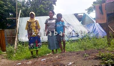 Tenda Anak Hebat rupanya di monggonao 9 warga masih hidup di tenda kabar