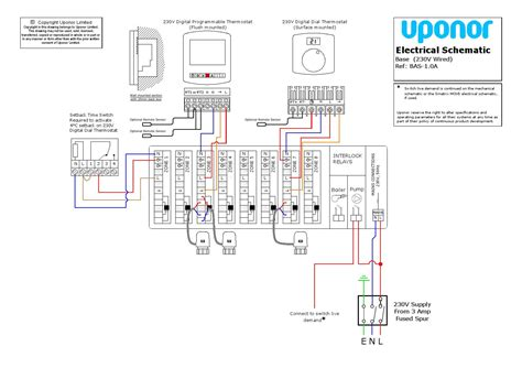 wiring diagram for uponor underfloor heating wiring diagram