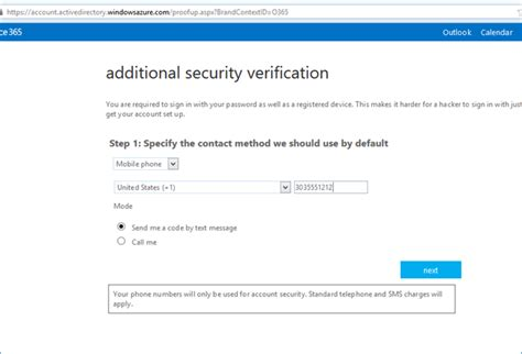 Office 365 Portal Requirements Enabling And Configuring Multi Factor Authentication For
