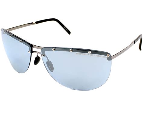 Porsche Sunglasses by Porsche Design Sunglasses Gun With Black Lenses P 8577 B