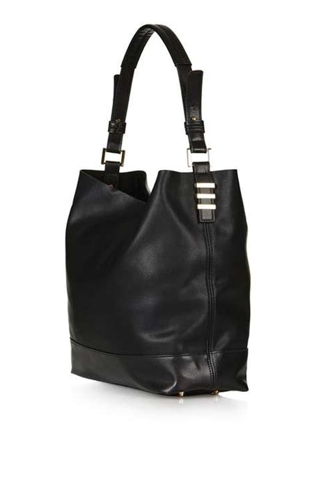 Leather Slouchy Satchel From Topshop by Slouchy Shoulder Bag Topshop