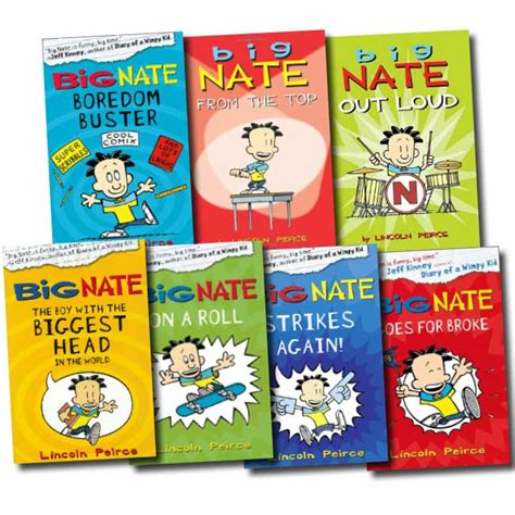 big nate book pictures big nate series collection lincoln peirce 7 books set