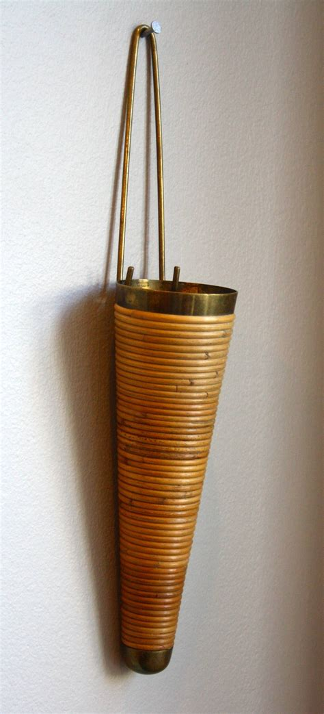 Wall Mount Vase by Carl Aub 246 Ck Wall Mounted Vase At 1stdibs