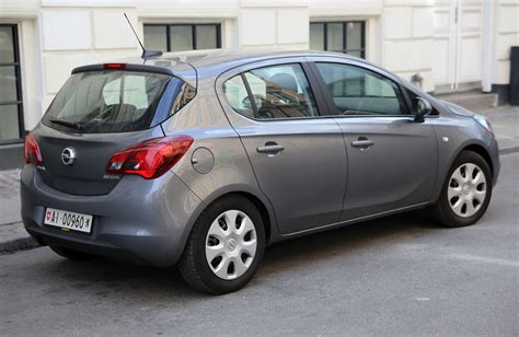 opel corsa 2016 file 2016 opel corsa ecoflex 5 door ch rear right jpg
