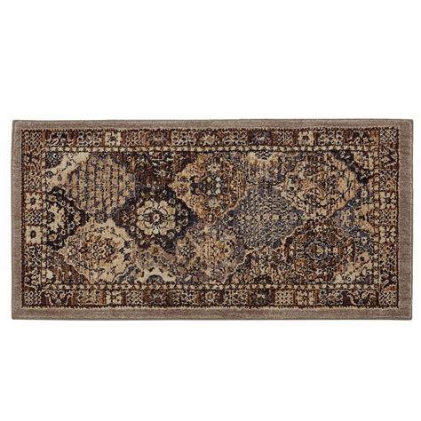 home accent rug collection home decorators collection patchwork medallion grey 2 ft