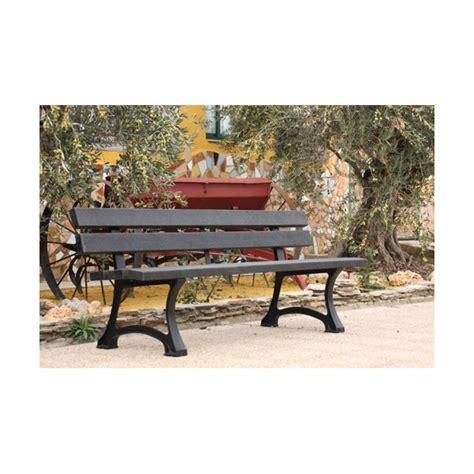 banc de jardin en plastique code fiche produit 3815917