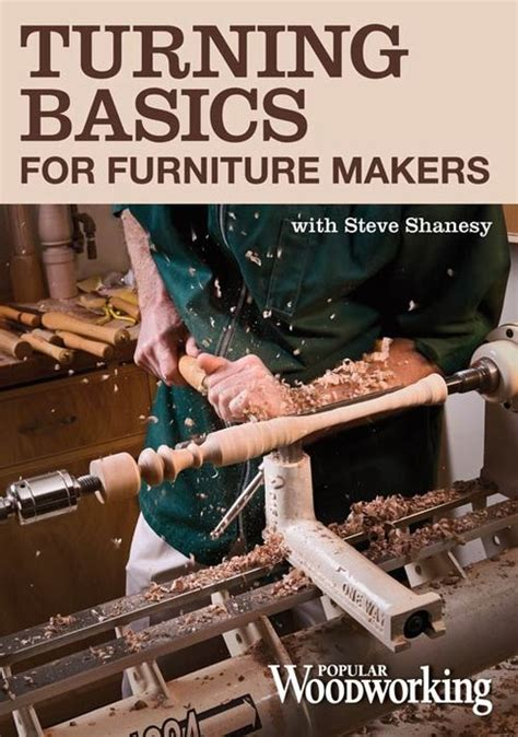 popular woodworking dvd review turning basics with steve shanesy dvd review