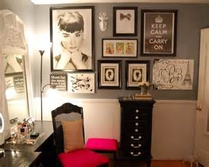 audrey hepburn home decor audrey hepburn in paris room decor my vanity room
