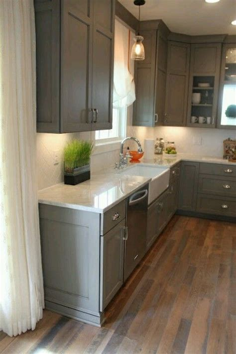 floor stain cabinet color farm sink home ideas