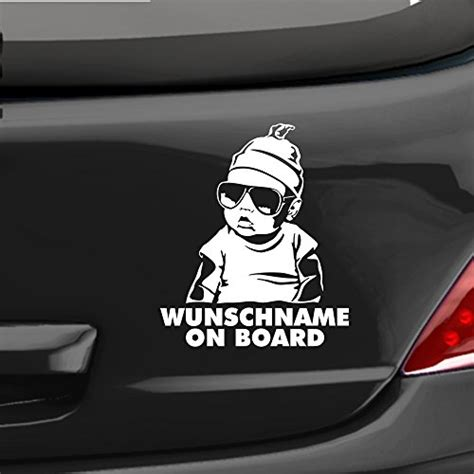 Autoaufkleber Baby Hangover by Edesign24 Autoaufkleber Hangover Baby On Board Wunschname