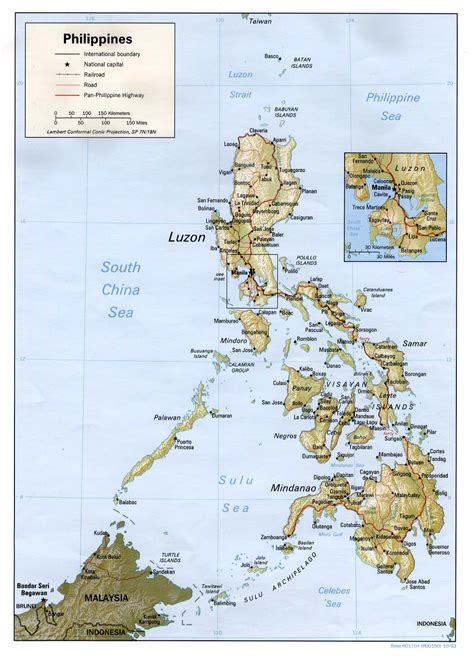map of phillipines nationmaster maps of philippines 30 in total