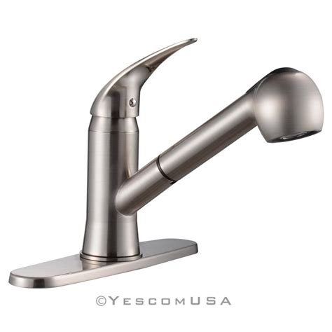 best pull out spray kitchen faucet pull out spray kitchen faucet swivel spout sink single
