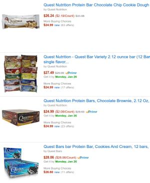 amazon quest bars amazon prime for health products is it worth it