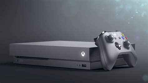 Xbox One X introducing the xbox one x