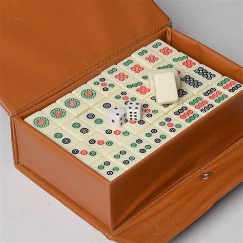 Mini Jong With mahjong set 20mm mini mah jong carved tile